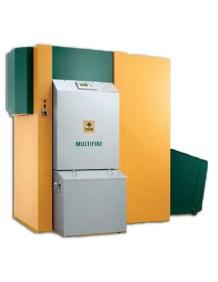 Caldaia a biomassa KWB Multifire | Caldaia a cippato / pellet / bricchetti