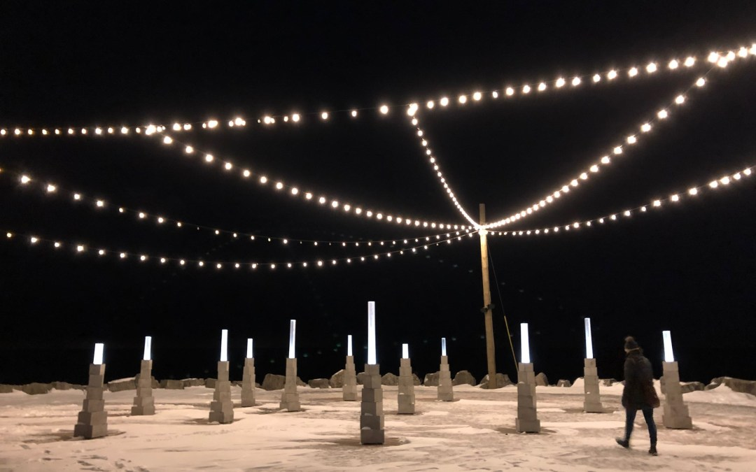 Winter Light Exhibition at Ontario Place