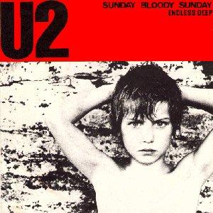 U2 record cover Sunday Bloody Sunday