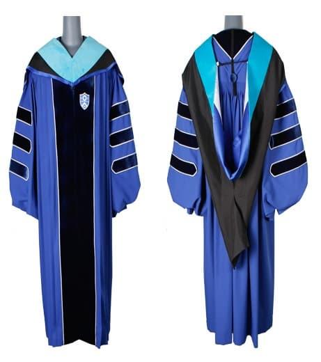 Hood Academic Wearing