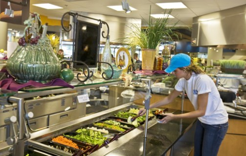 Image result for uri dining hall food healthy