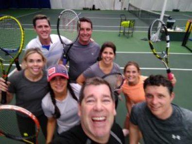 Members love coming to cardio tennis!