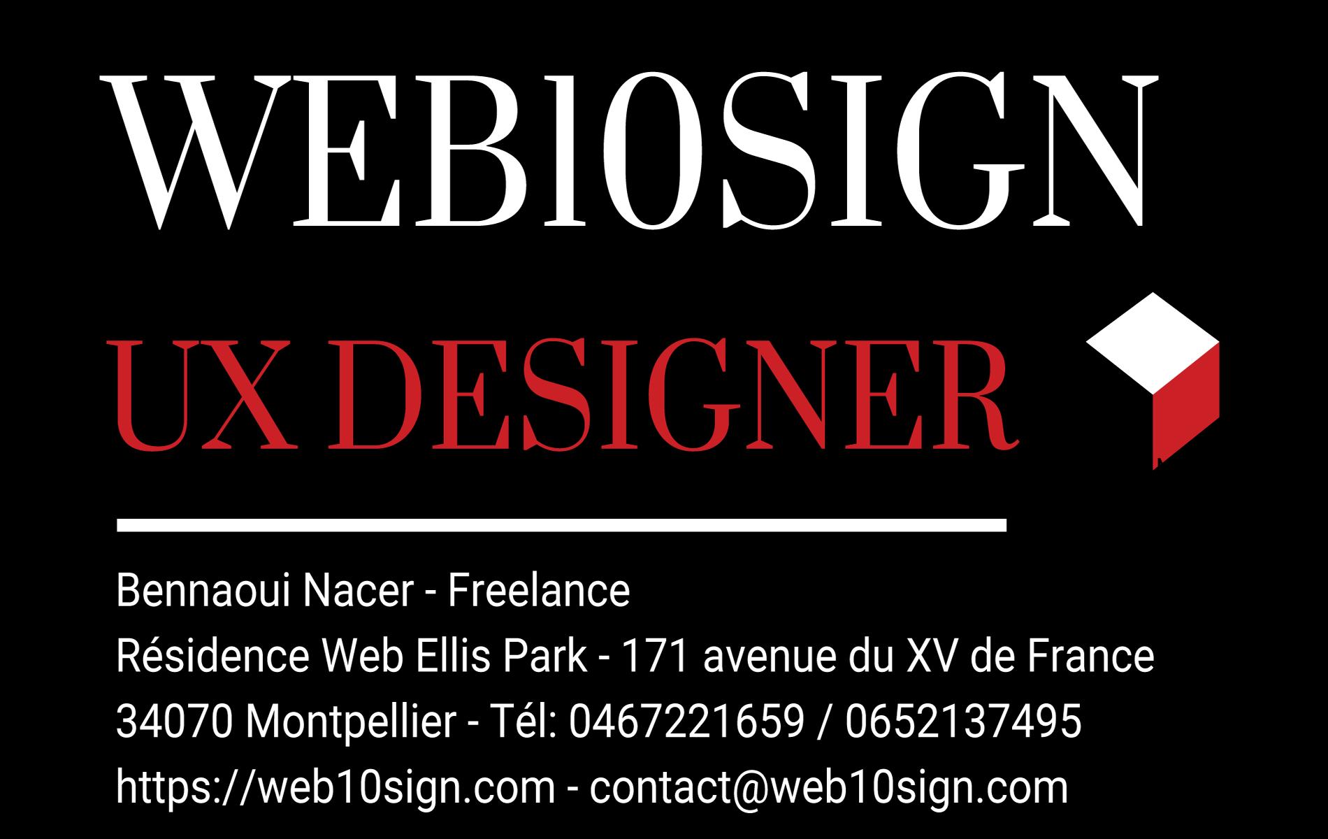 Carte de Visite Web10sign