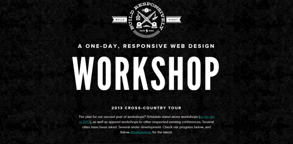Build Responsively Workshop