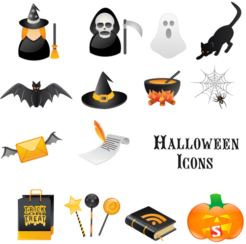 halloween-vector icons