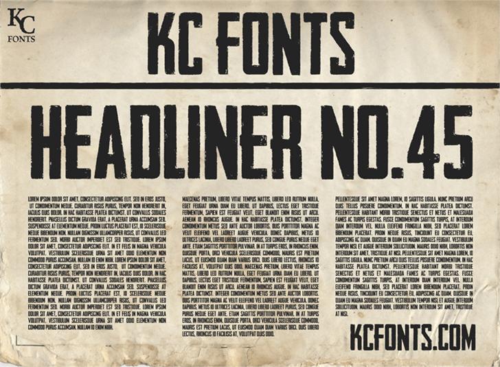 headliner-font
