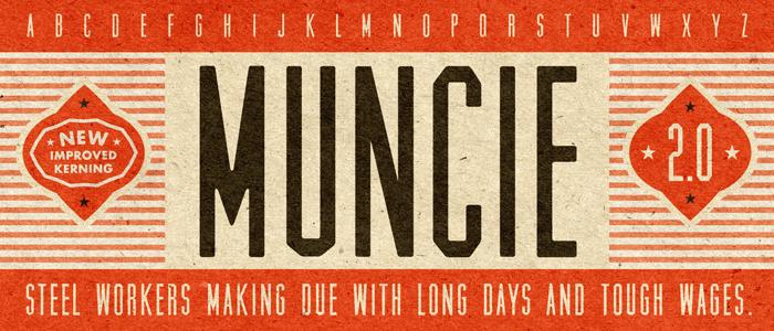 muncie-retro-vintage-font