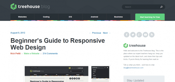 Beginner's Guide to Responsive Web Design   Treehouse Blog