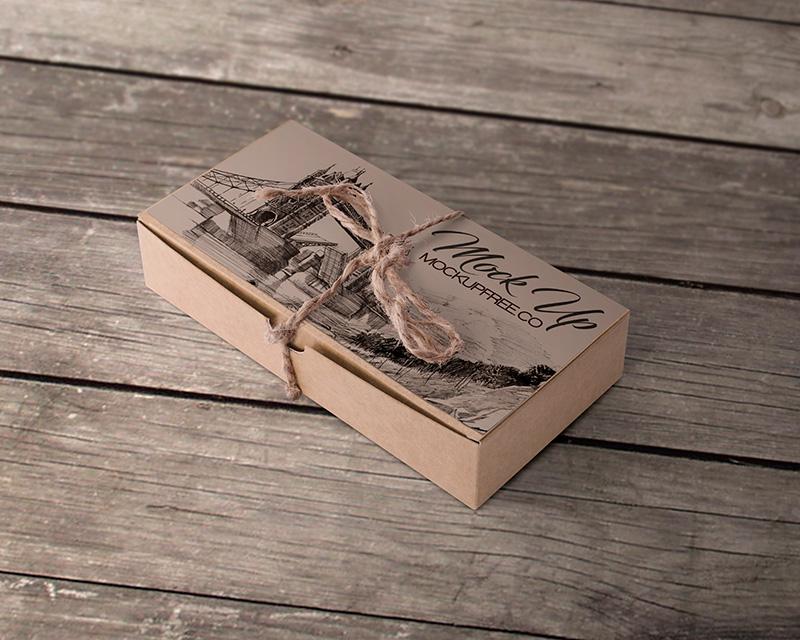 Download Free PSD Beige Cardboard Box Mockup - Web3Canvas