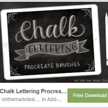 5 Chalks Lettering Web3Canvas