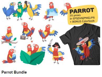 Parrot Bundle Web3Canvas