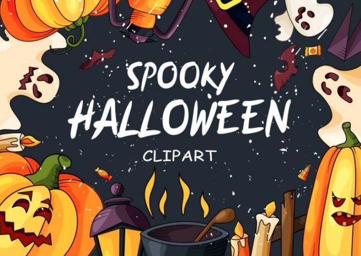 Spooky Halloween Clipart Web3Canvas