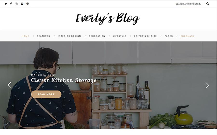 First-Rank Blogger Site WordPress Theme