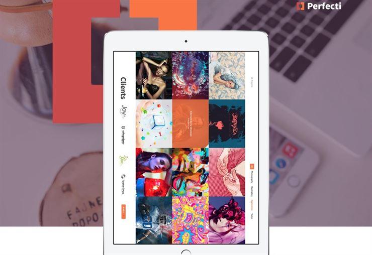 Perfecti Portfolio, Blog or Company Websites Templates Web3Canvas