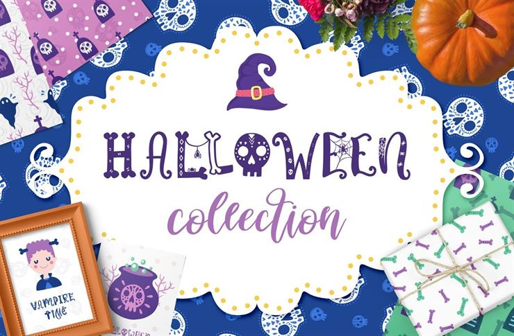Halloween Clipart Collection Web3Canvas