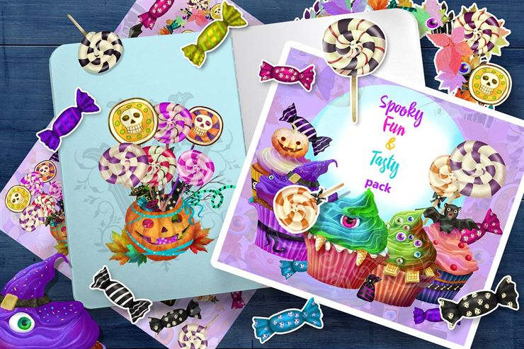 Sweet Monsters Clipart Web3Canvas
