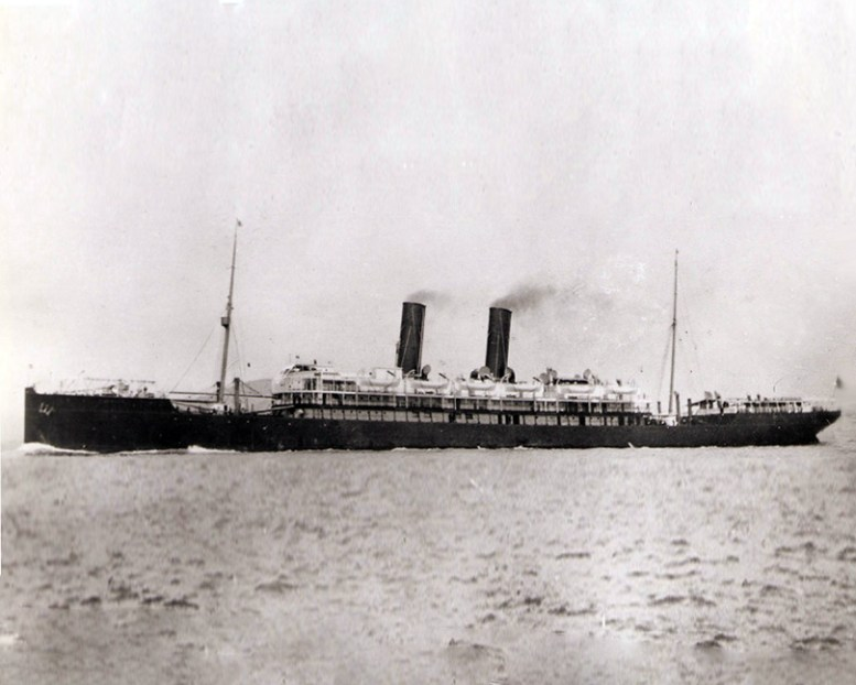 SS Siberia - London Crossed on her in 1904 to Yokahoma.jpg