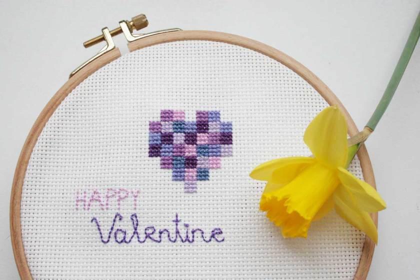 Ein Geschenk für Verliebte zum Valentinstag