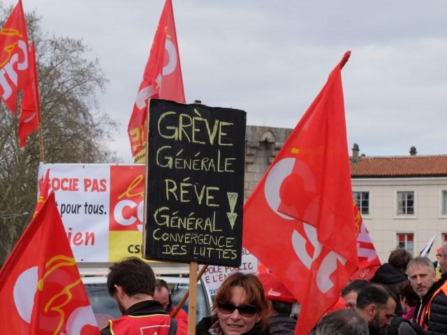 Journée nationale d'action et de grève vendredi 14 décembre