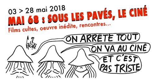 Mai 68 : sous les pavés, le ciné. 4 films projetés à Poitiers