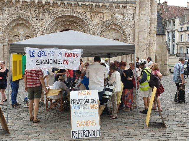 [tract]  Coordination 86 pour un référendum contre la privatisation d'Aéroports De Paris
