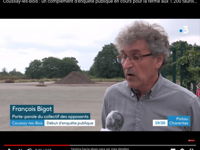 Coussay-les-Bois : un complément d'enquête publique en cours pour la ferme aux 1.200 taurillons