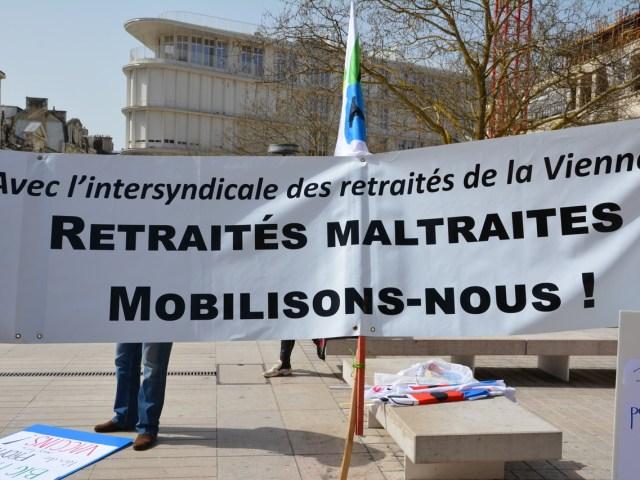 [Photos] 1er octobre, les retraité.es toujours mobilisé.es et ils ont bien raison !
