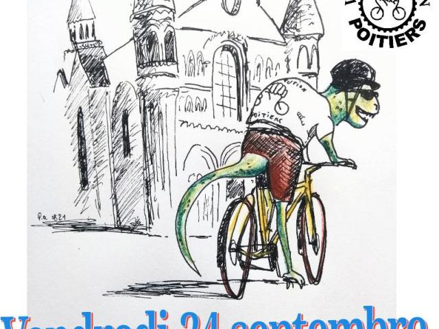 [podcast] Vélorution à Poitiers. Un interview d'Alexandre