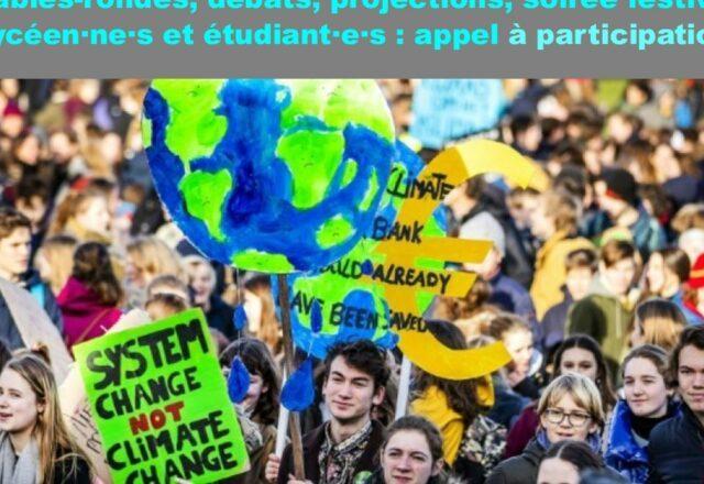 Appel à participation destination des lycéen·ne·s et des étudiant·e·s pour l'édition 2022 « Agir contre les dominations »