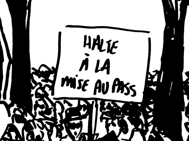 Fanzine « Poitiers Révoltée »: manifs contre le pass sanitaire et l'obligation vaccinale