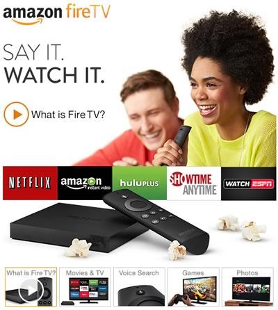 que es el amazon fire tv