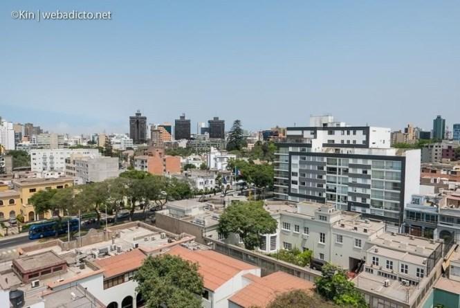 vista terraza piso 8 de oficinas de linio Perú