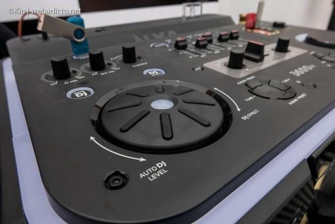 equipo de sonido philips nitro nx9 - efectos dj