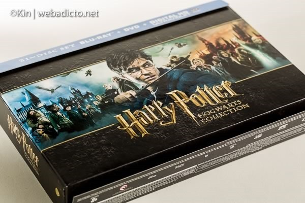 review bluray harry potter hogwarts collection-7466