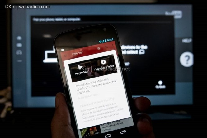 youtube tv controlar desde smartphone tablet pc-1050043