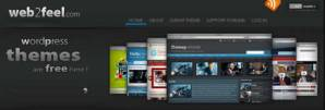 Themes wordpress gratis en Web2feel