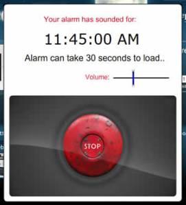Sleep.FM, una alarma online