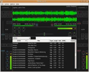 Programas para dj gratis, Mixxx