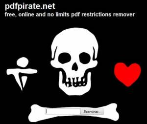Desbloquear pdf en PDFPirate.net