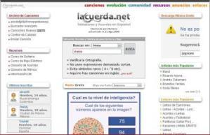 La Letra De Tu Canción Favorita En «La Cuerda.net»