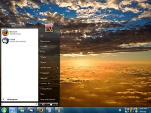 Barra de windows 7 en XP con ViGlance