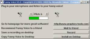 Cambiar voz con Funny Voice