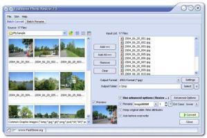 Como organizar fotos con FastStone Photo Resizer
