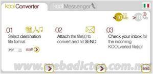 Convertir archivos con KoolWire