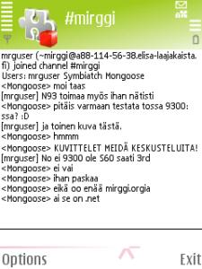 Chat para celular mIRGGI