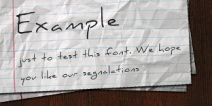 Fuentes manuscritas gratis para tus diseños