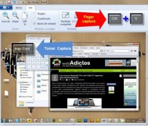 Como tomar capturas de pantalla en Windows