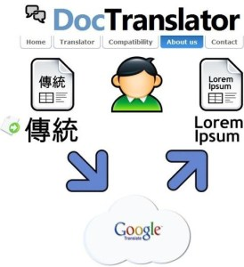 Traducir documentos con Doctranslator