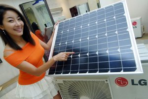 Aires Acondicionados con paneles solares
