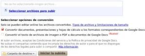 Google Docs incluye soporte para OCR